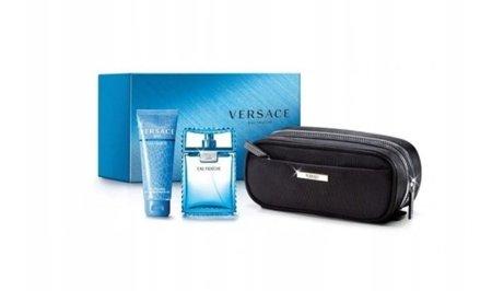 Versace Eau Fraiche SET EDT M 100ml+50ml+50ml+Portfel