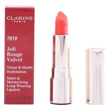 Clarins JOLI ROUGE VELVET pomadka 761V SPICY CHILI