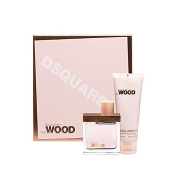 Dsquared2 She Wood SET W EDP 100ml + Balsam 200ml