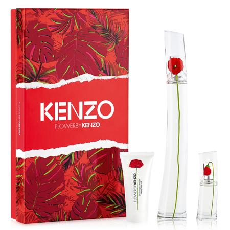 Kenzo FLOWER woda perfumowana 100 ml ZESTAW 3 SZT