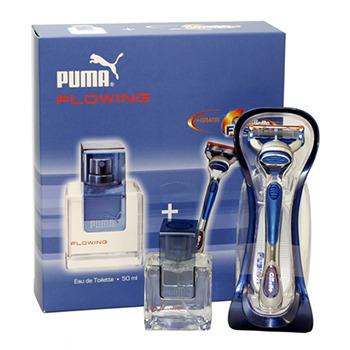 Puma Flowing SET M EDT 50ml + Maszynka do golenia