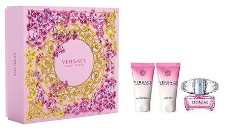 Versace BRIGHT CRYSTAL EDT 50 ml + żel + balsam