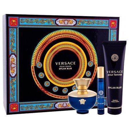 Versace DYLAN BLUE EDP 100 ml + 10 ml + balsam